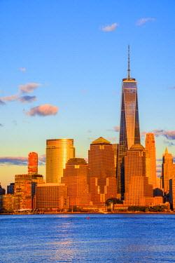 US61323 USA, New York, Manhattan, Lower Manhattan and World Trade Center, Freedom Tower