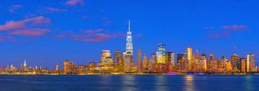 US61325 USA, New York, Manhattan, Lower Manhattan and World Trade Center, Freedom Tower