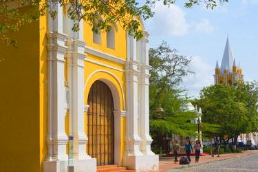 SA20KSU0032 San Clemente Church in Coro (UNESCO World Heritage site), Falcon State, Venezuela