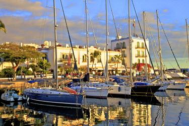 ES09266 Puerto de Morgan, Gran Canaria, Canary Islands, Spain, Atlantic Ocean, Europe