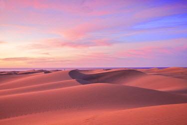 ES09318 Maspalomas Sand Dunes, Gran Canaria, Canary Islands, Spain, Atlantic Ocean, Europe
