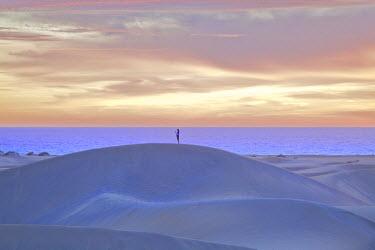 ES09337 Maspalomas Sand Dunes, Gran Canaria, Canary Islands, Spain, Atlantic Ocean, Europe