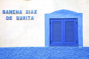 ES09338 Street Sign In Puerto de las Nieves Fishing Village, Gran Canaria, Canary Islands, Spain, Atlantic Ocean, Europe