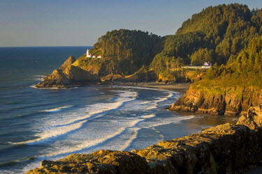 US38BJN0069 Heceta Head Lighthouse along the Oregon Coast, USA