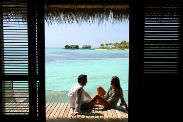 HMS0394394 Maldives, North Male atoll, One & Only Reethi Rah hotel