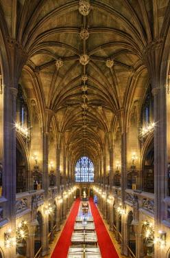 ENG12733AW Europe, United Kingdom, England, Lancashire, Manchester, John Rylands Library