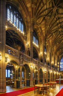 Europe, United Kingdom, England, Lancashire, Manchester, John Rylands Library