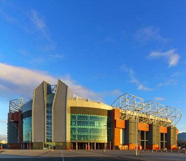 ENG12746AW Europe, United Kingdom, England, Lancashire, Manchester, Manchester United Football Club