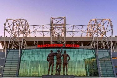 ENG12750AW Europe, United Kingdom, England, Lancashire, Manchester, Manchester United Football Club