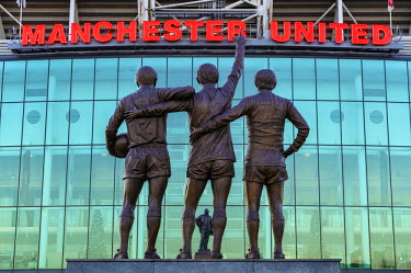 ENG12751AW Europe, United Kingdom, England, Lancashire, Manchester, Manchester United Football Club