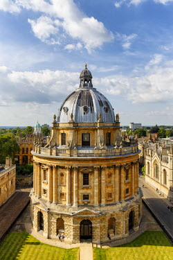ENG12776AW Europe, United Kingdom, England, Oxfordshire, Oxford, Radcliffe Camera