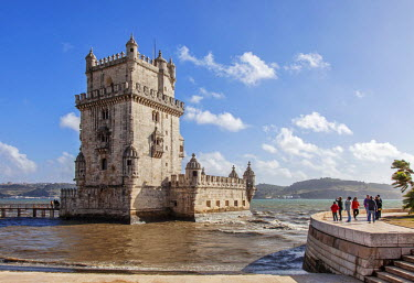 POR8723 Belem Tower (Torre de Belem) is a fortified tower located in the civil parish of Santa Maria de Belem in the municipality of Lisbon, Portugal.