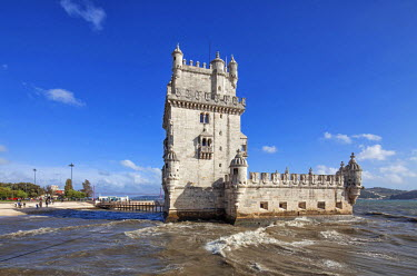 POR8725 Belem Tower (Torre de Belem) is a fortified tower located in the civil parish of Santa Maria de Belem in the municipality of Lisbon, Portugal.