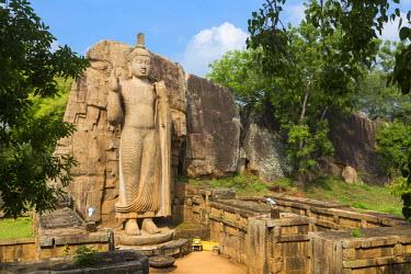 HMS1840513 Sri Lanka, North-Central province, Anuradhapura district, Aukana, Aukana Buddha statue