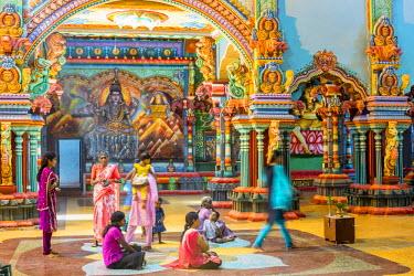 HMS1983551 Sri Lanka, Northern province, Jaffna district, Keerimalai, Hindu temple dedicated to Shiva and Naguleswaram built in 2012
