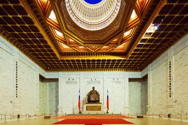 TAI0130 Taiwan, Taipei, Chiang Kaishek memorial grounds