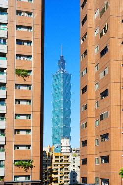 TAI0137 Taiwan, Taipei, Taipei 101 building