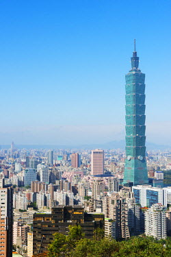 TAI0140 Taiwan, Taipei, Taipei 101 building