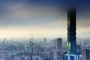 TAI0144 Taiwan, Taipei, Taipei 101 building