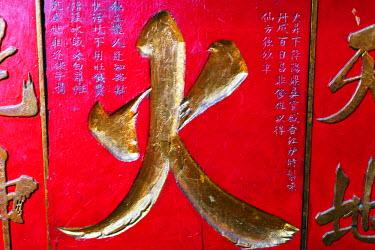 VIT0996 South East Asia, Vietnam, Ho Chi Mihn City (Saigon), Jade Emperor Pagoda