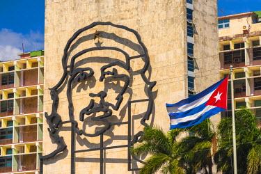 CB01796 Cuba, Havana, Vedado, Plaza de la Revolucion