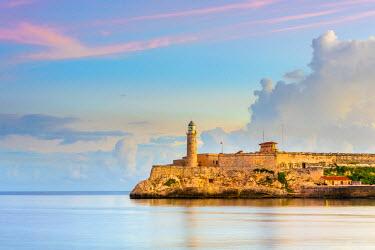 CB01834 Cuba, Havana, Castillo del Morro (Castillo de los Tres Reyes del Morro)