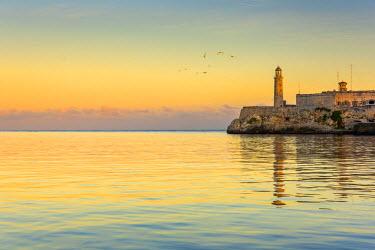 CB01842 Cuba, Havana, Castillo del Morro (Castillo de los Tres Reyes del Morro)