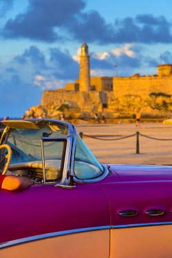 CB01847 Cuba, Havana, Castillo del Morro (Castillo de los Tres Reyes del Morro)
