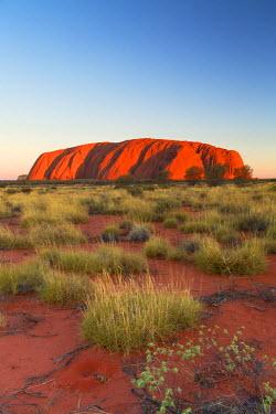 AUS2324AW Uluru (UNESCO World Heritage Site), Uluru-Kata Tjuta National Park, Northern Territory, Australia