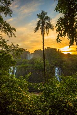 BZ02256 Iguacu Falls, Parana State, Brazil