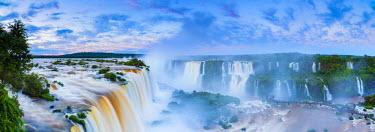 BZ02274 Iguacu Falls, Parana State, Brazil