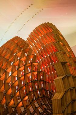 BZ01348 Museu do Amanha (Museum of Tomorrow) by Santiago Calatrava, Rio de Janeiro, Brazil