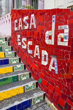 BZ01357 Escadaria Selaron, Lapa/Santa Teresa district, Rio de Janeiro, Brazil