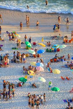 BZ01469 Ipanema Beach, Rio de Janeiro, Brazil, South America