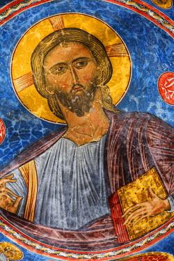 CY01172 Byzantine fresco (12th century), Church of Ayios Nikolaos tis Steyis, Kakopetria, Cyprus