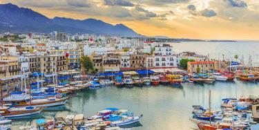 CY02132 Harbor of Kyrenia, Northern Cyprus