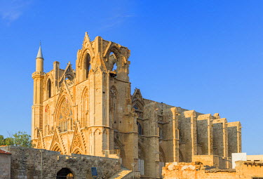 CY02139 Lala Mustafa Pasha Mosque, formerly Saint Nicholas's Cathedral, Famagusta, Northern Cyprus