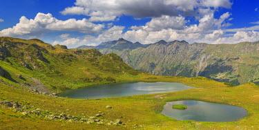 GG01212 Valley of seven lakes, Caucasus mountains, Abkhazia, Georgia
