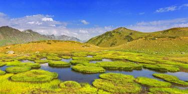 GG01215 Valley of seven lakes, Caucasus mountains, Abkhazia, Georgia