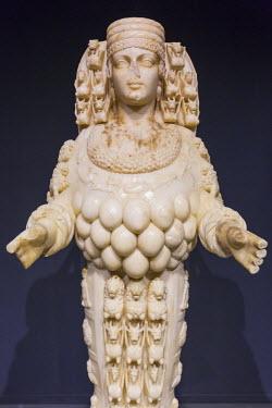 TK09363 Statue of Artemis, Ephesus, Selcuk, Izmir Province, Turkey