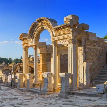 TK09371 Temple of Hadrian, ruins of ancient Ephesus, Selcuk, Izmir Province, Turkey
