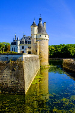 FRA9098 Chateau of Chenonceau, Indre-et-Loire, Loire Valley, France, Europe