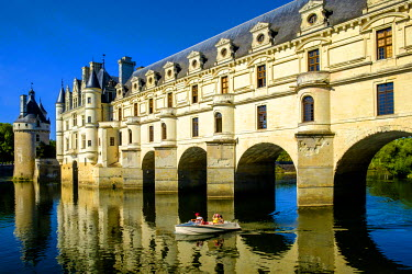FRA9100 Chateau of Chenonceau, Indre-et-Loire, Loire Valley, France, Europe