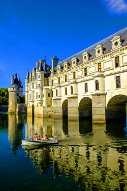 FRA9101 Chateau of Chenonceau, Indre-et-Loire, Loire Valley, France, Europe