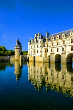 FRA9102 Chateau of Chenonceau, Indre-et-Loire, Loire Valley, France, Europe