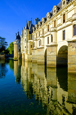 FRA9103 Chateau of Chenonceau, Indre-et-Loire, Loire Valley, France, Europe