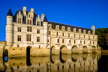 FRA9106 Chateau of Chenonceau, Indre-et-Loire, Loire Valley, France, Europe
