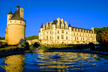 FRA9111 Chateau of Chenonceau, Indre-et-Loire, Loire Valley, France, Europe