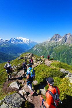 FRA8736 Europe, France, Haute Savoie, Rhone Alps, Chamonix, Chamonix trail running marathon