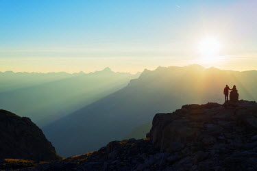 FRA8757 Europe, France, Haute Savoie, Rhone Alps, Chamonix, Brevant landscape